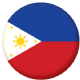 Philippines Country Flag 25mm Pin Button Badge